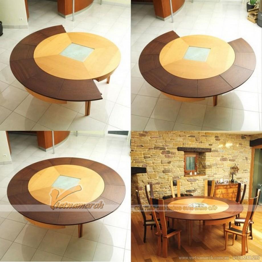 Mẫu bàn tròn vô cùng hiện đại