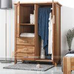 Những mẫu tủ quần áo nhỏ nhắn cho không gian phòng ngủ nhỏ