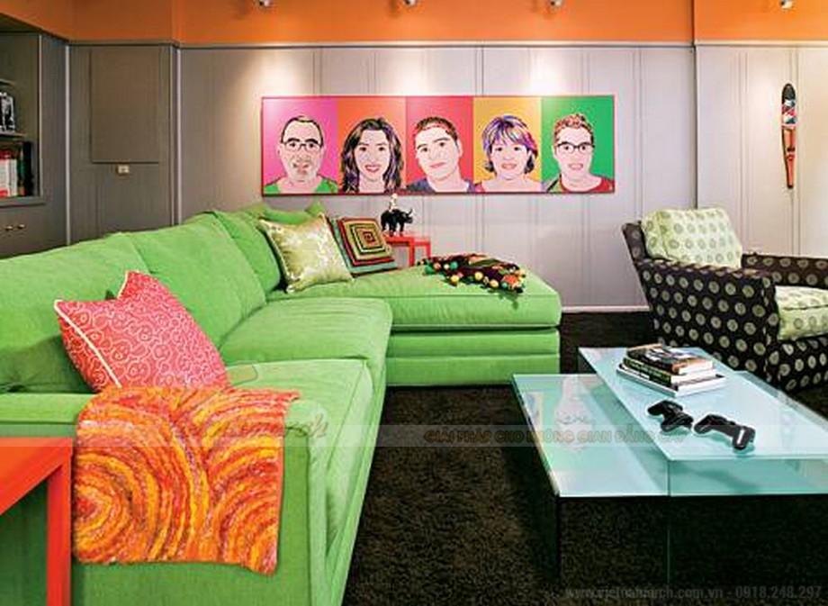 Phong cách reto tươi vui cho căn hộ Park Hill