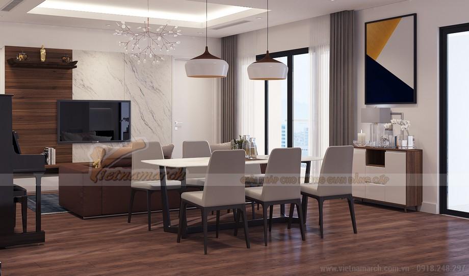 Bộ bàn ghế ăn 6 người với style đẹp lạ