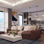 Phương án thiết kế nội thất cho nhà chị Vân Anh – Chung cư Imperia Garden