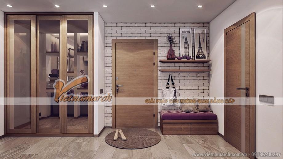 Căn hộ đơn giản nhưng phong cách nhờ thiết kế nội thất hoàn hảo