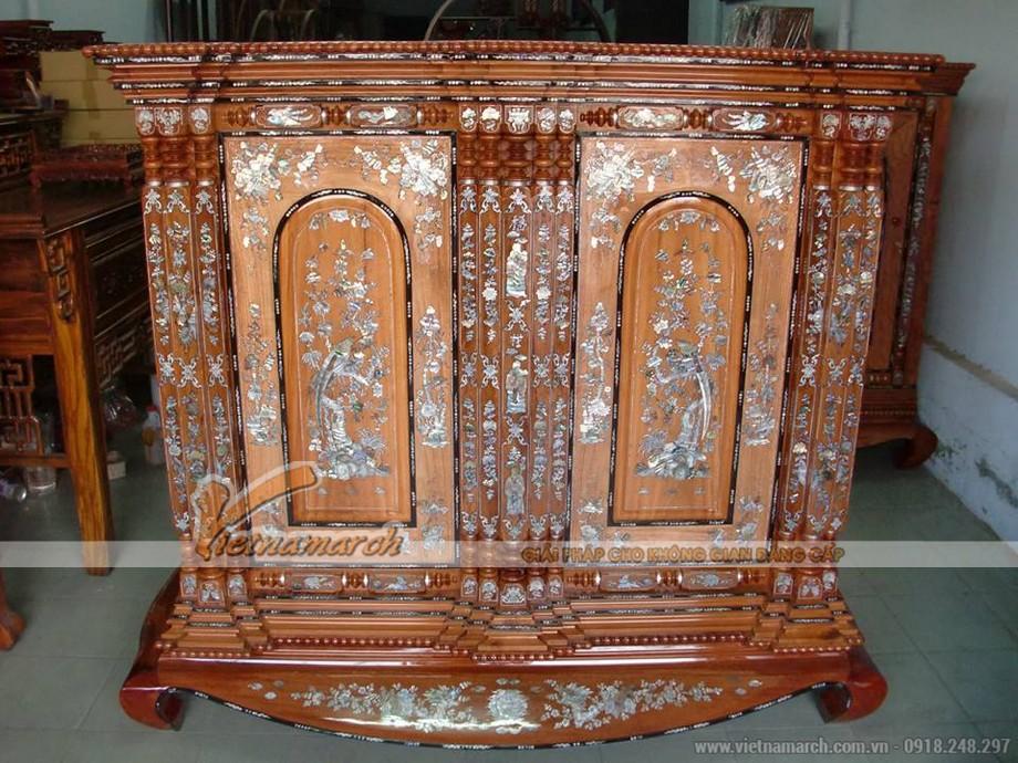 Những mẫu tủ thờ được ưu chuộng trên thị trường hiện nay
