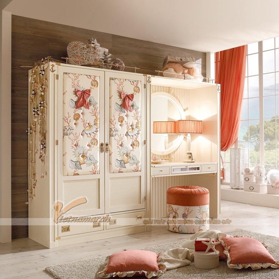 Gợi ý mẫu tủ quần áo đem lại không gian lãng mạn, sang trọng cho nội thất phòng ngủ