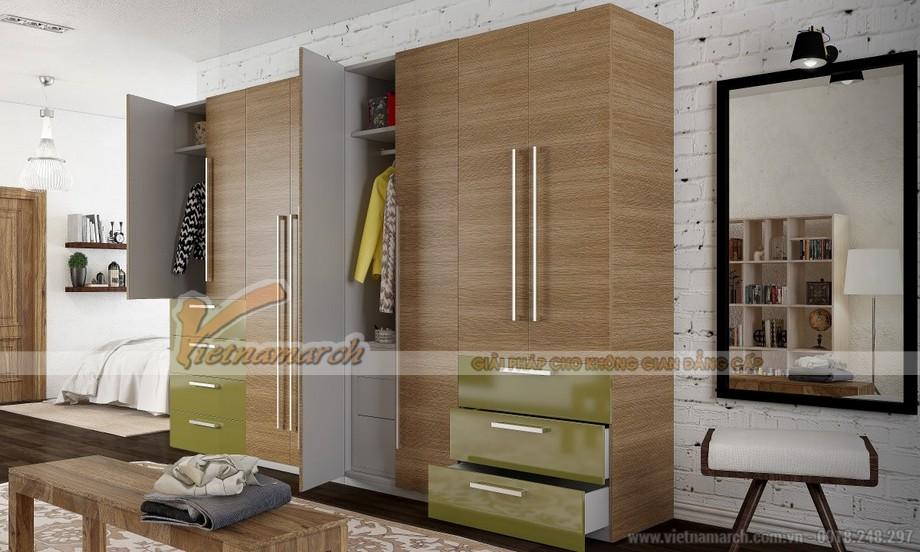 Bật mí cách lựa chọn tủ quần áo phù hợp với không gian của gia đình bạn 01