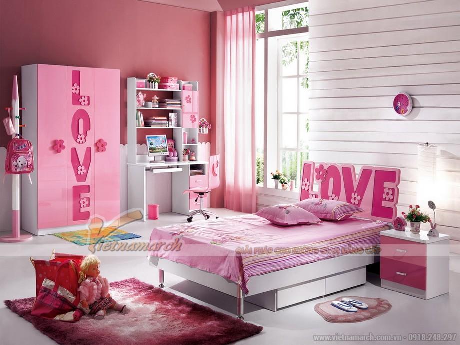 Khám phá những mẫu tủ dễ thương dành cho bé gái