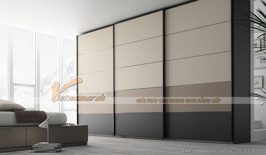 mẫu tủ âm tường, cánh lùa cho không gian phòng ngủ phong cách và ấn tượng 03