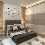 Mẫu tủ âm tường, cánh lùa cho không gian phòng ngủ phong cách và ấn tượng