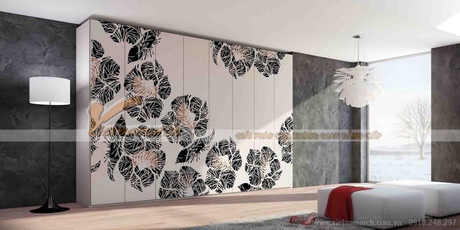 mẫu tủ âm tường, cánh lùa cho không gian phòng ngủ phong cách và ấn tượng 06