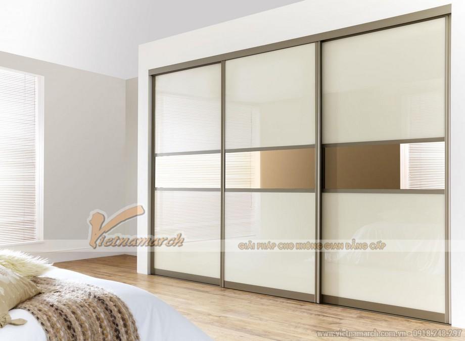 mẫu tủ âm tường, cánh lùa cho không gian phòng ngủ phong cách và ấn tượng 08
