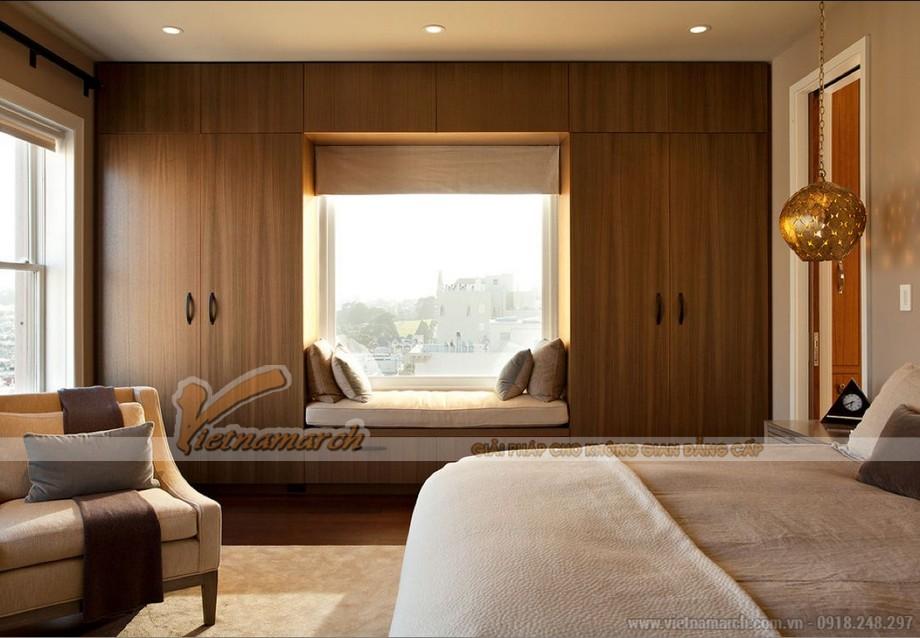 """Phòng ngủ """"mơ ước"""" với bộ sưu tập tủ quần áo hiện đại, sang trọng"""