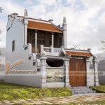 Phương án thiết kế nhà thờ họ 2 tầng nhà anh Hùng ở Nam Định