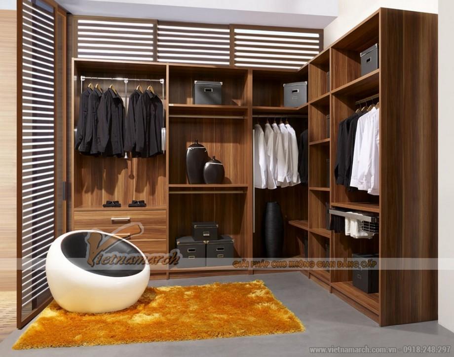 Tủ quần áo gỗ với công năng tuyệt vời cho phòng ngủ