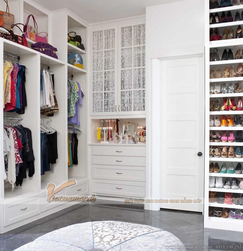 Bí quyết chọn tủ quần áo thông minh cho phòng ngủ hẹp