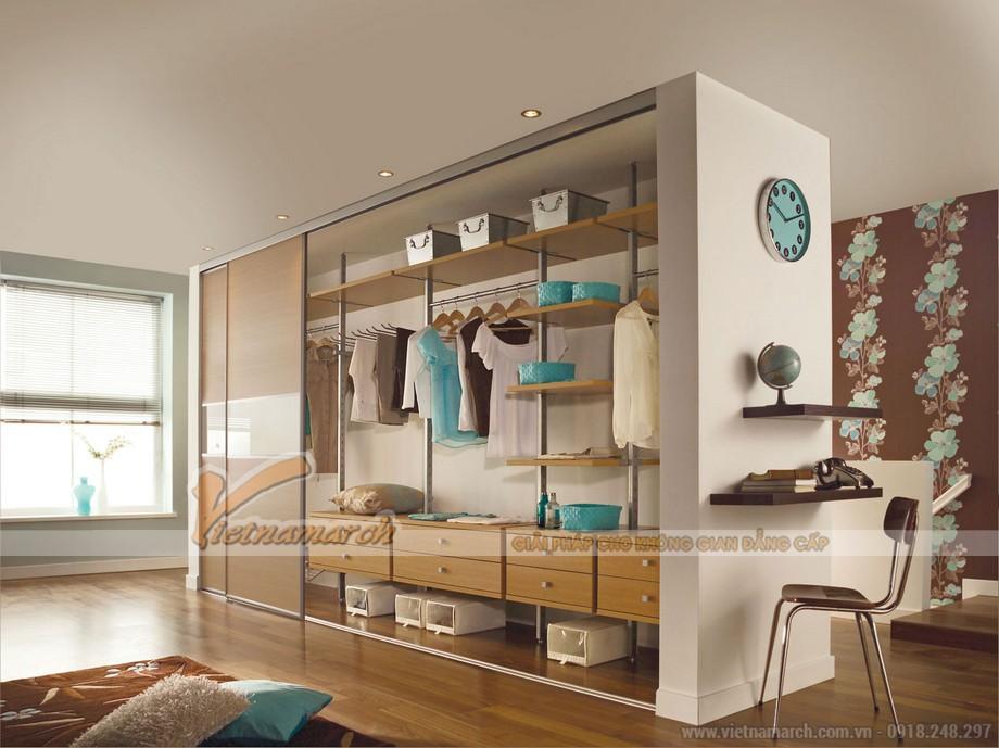 Thiết kế không gian phòng ngủ cá tính riêng với mẫu tủ mới nhất thị trường