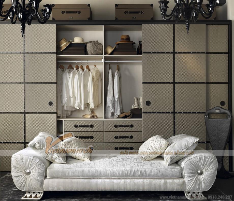 Những mẫu thiết kế tủ quần áo độc đáo, mang đậm cá tính riêng cho gia chủ