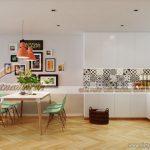 Thiết kế nội thất chung cư Park Hill phong cách Bắc Âu