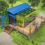 LẠ: Thiết kế phòng nghỉ Resort bằng Container tại Hải Phòng.