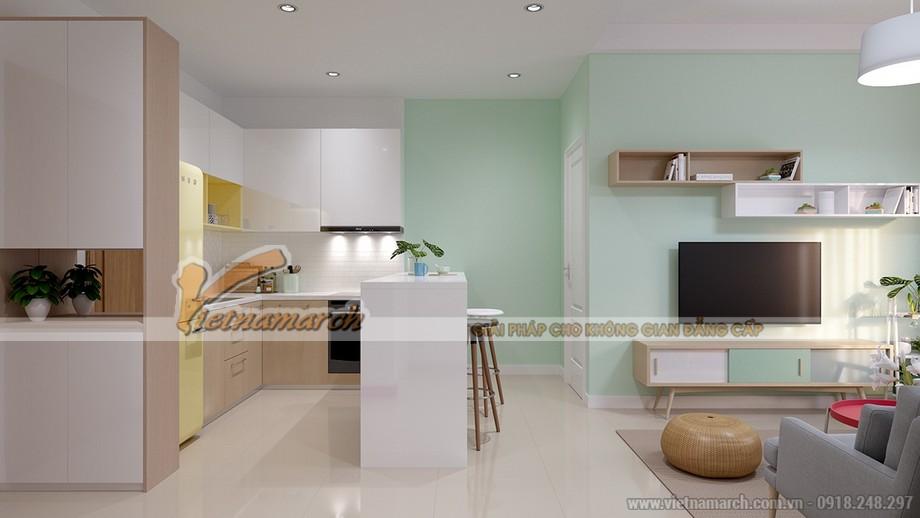Nội thất phòng bếp đẹp ấn tượng