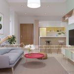 Ý tưởng thiết kế nội thất chung cư Park Hill phong cách Scandinavian