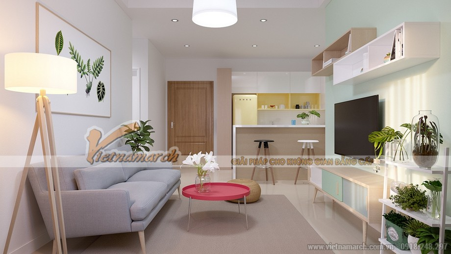 Thiết kế nội thất căn hộ Park Hill