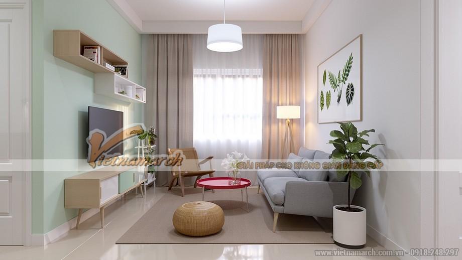 Thiết kế nội thất căn hộ Park Hill phong cách Scandinavian
