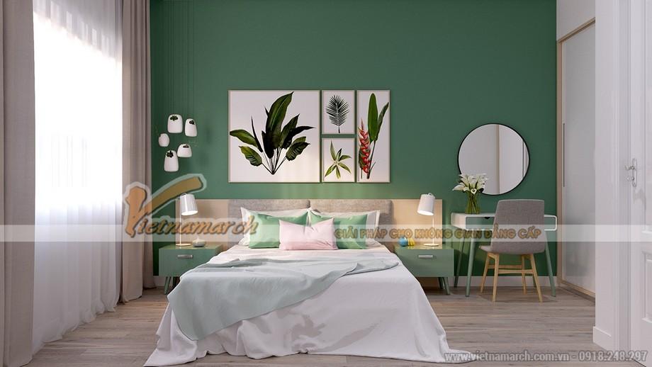 Thiết kế nội thất phòng ngủ căn hộ Park Hill