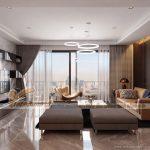 Ý tưởng thiết kế nội thất chung cư Park Hill sang trọng, đẳng cấp