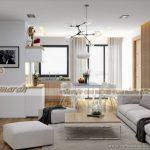 Ý TƯỞNG: Thiết kế nội thất căn hộ Park 11 Park Hill gam màu nhã nhặn