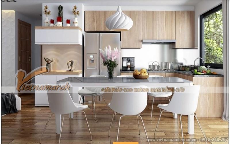 Nội thất phòng bếp và phòng ăn