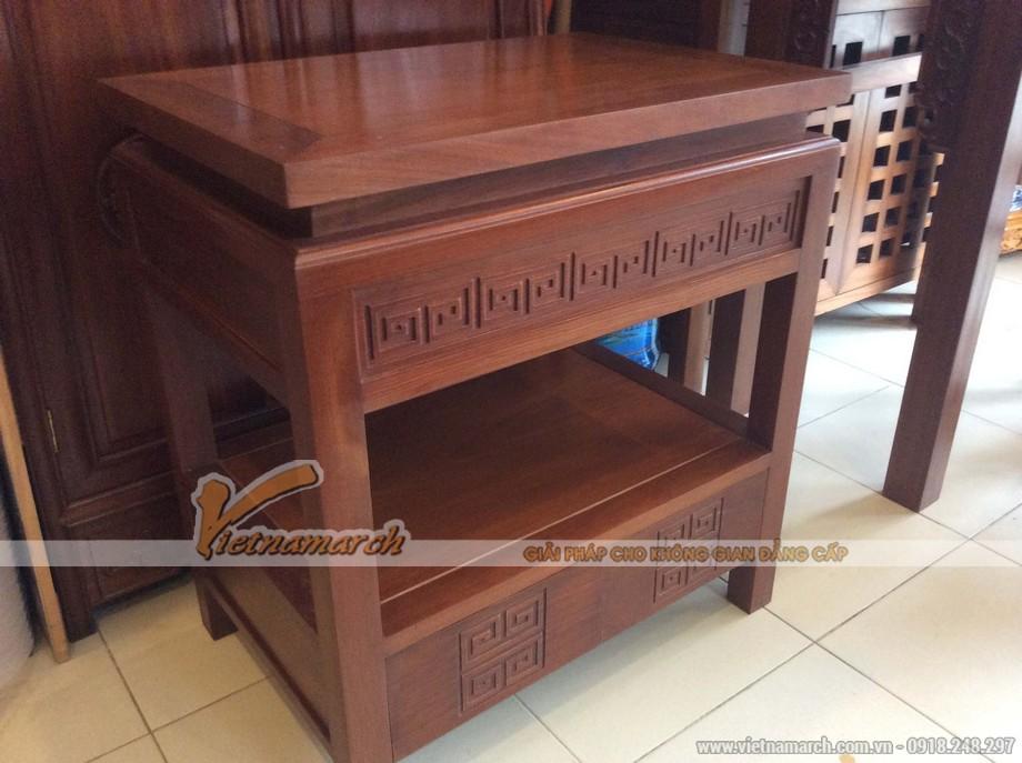 Những mẫu bàn thờ hiện đại cho ngôi nhà sang trọng