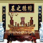 Mẫu bàn thờ truyền thống trang trọng cho mọi gia đình, dòng họ