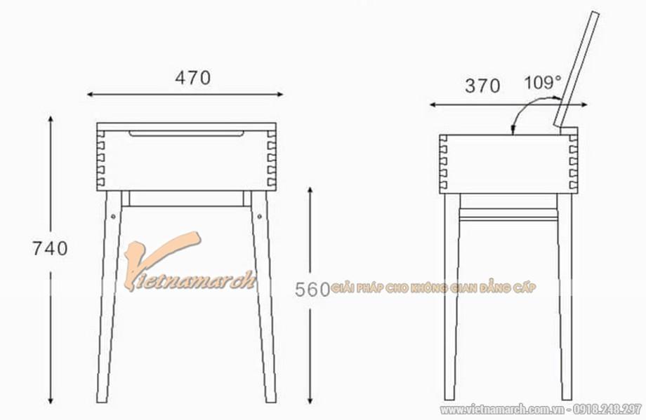 Những mẫu bàn trang điểm nhỏ gọn hiện đại nhất