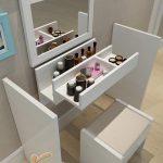 Những mẫu bàn trang điểm nhỏ gọn, đa di năng cho những phòng ngủ nhỏ