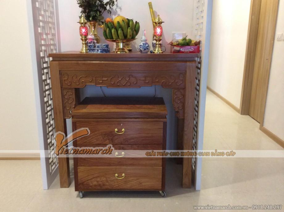 Bật mí bí quyết để sắm những mẫu tủ thờ trang nghiêm, hợp phong thủy