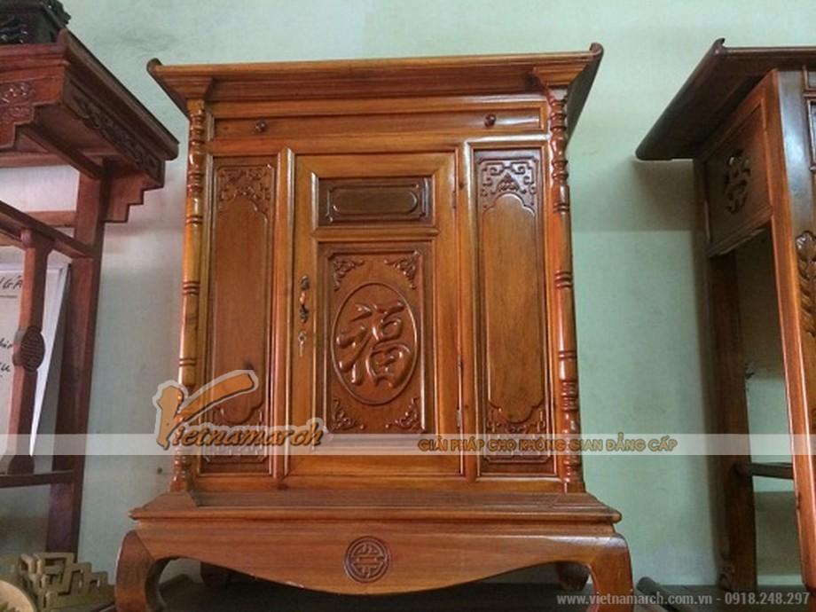 Tủ thờ bằng gỗ tự nhiên