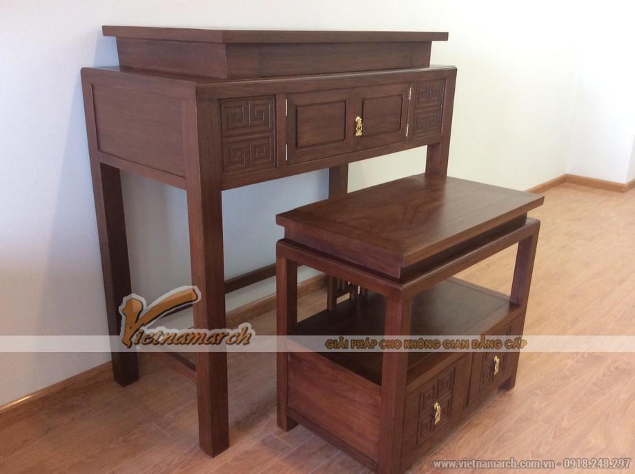 Mẫu bàn thờ hiện đại - cho căn hộ chung cư