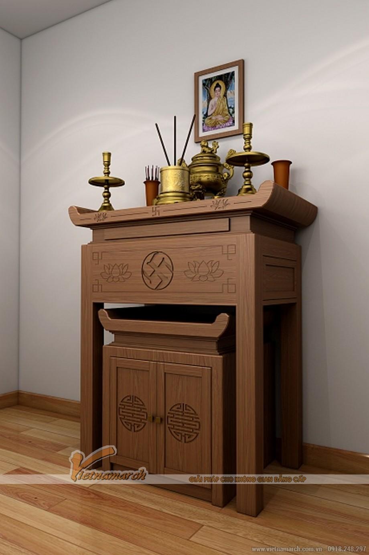 Những mẫu bàn thờ hiện đại được ưa chuộng nhất hiện nay