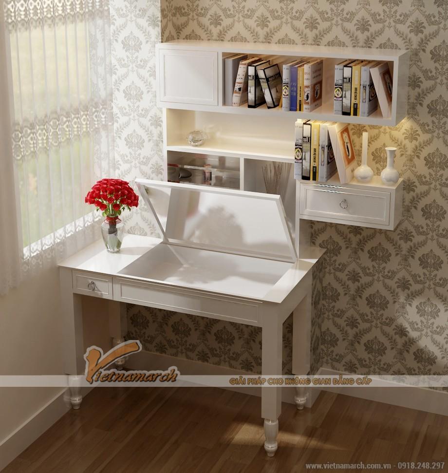 Mê mẩn với những mẫu bàn trang điểm đẹp, hiện đại và vô cùng tiện dụng
