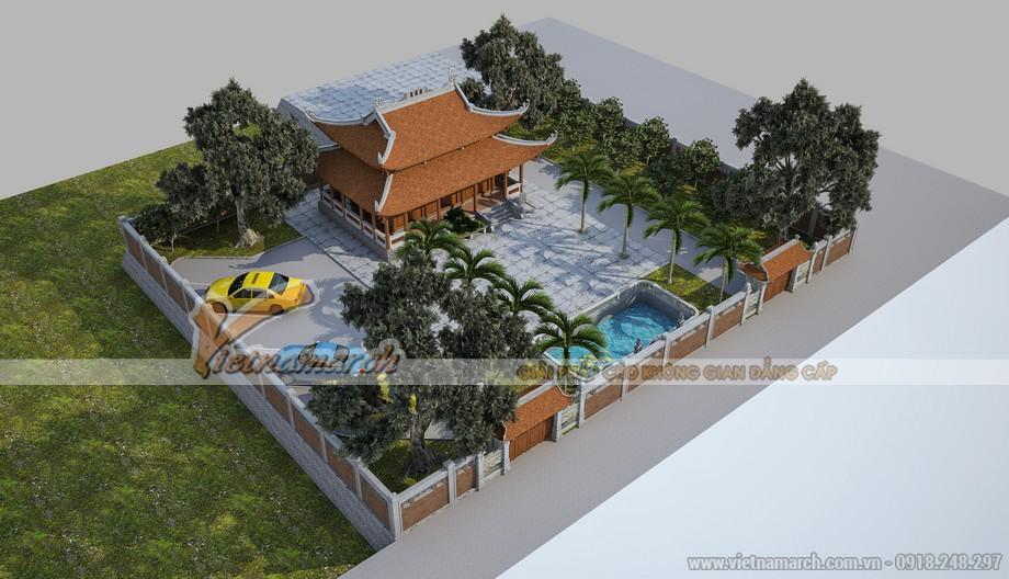 THiết kế nhà thờ họ 8 mái tại TP Hồ Chí Minh