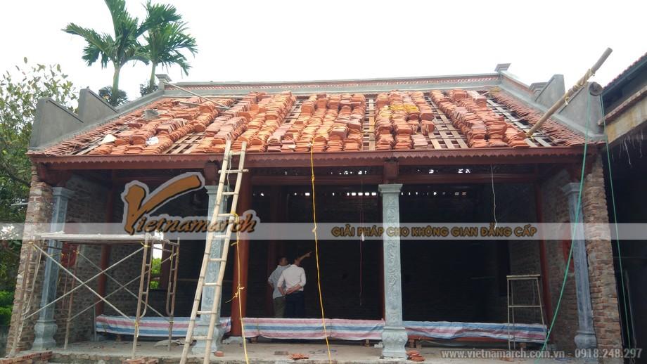 thi công nhà gỗ 750 triệu tại Hưng Yên