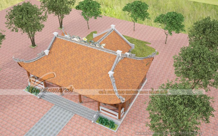 thiết kế đình đẹp tại Phú Thọ