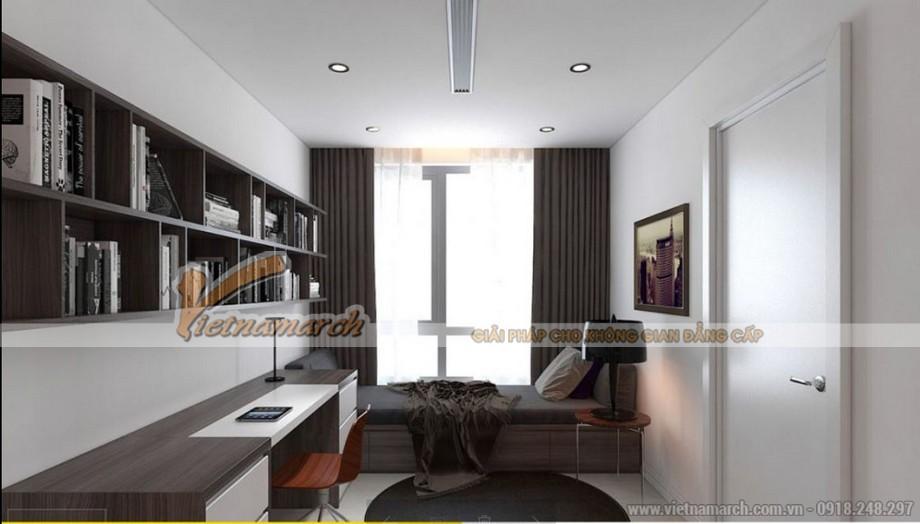 Phòng ngủ hiện đại cho căn hộ Paark Hill Times City