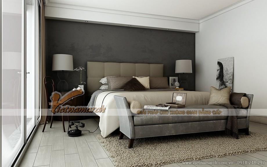 Phòng ngủ Master sang trọng và hiện đại