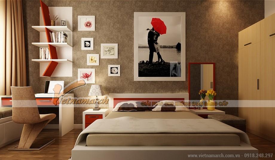 Thiết kế và thi công hoàn thiện nội thất phòng ngủ đẹp ấn tượng