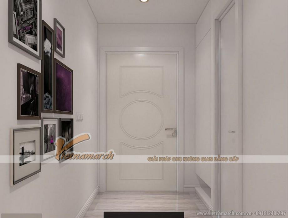 Thiết kế nội thất căn hộ 12A tòa Park 6 Park Hill – Times City