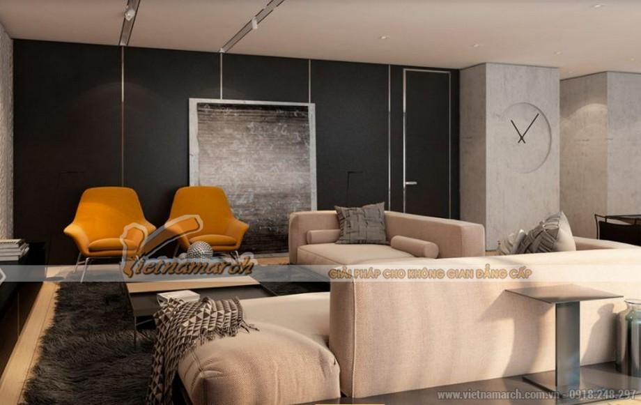 Thiết kế nội thất căn hộ Park Hill phong cách châu Âu hiện đại