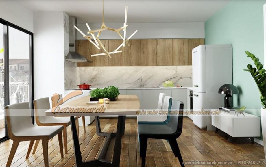 Thiết kế nội thất phòng bếp căn hộ 09 tòa Park 6 Park Hill – Times City