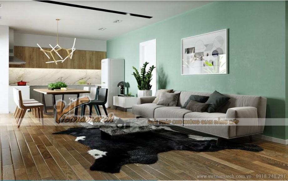 Thiết kế nội thất xanh căn hộ 09 tòa Park 6 Park Hill – Times City