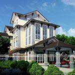 5 mẫu thiết kế biệt thự mái thái sang trọng, đẹp hút hồn